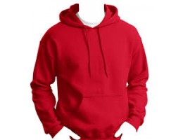 PULLOVER HOODIE-RED